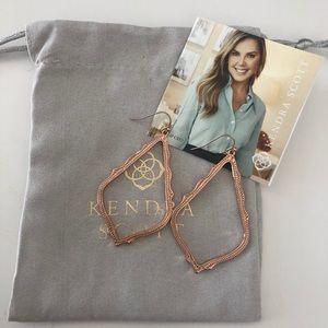 NEW Kendra Scott Rose Gold Sophie Earrings